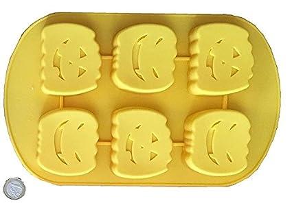 Royal Houseware - Stampo in silicone a forma di zucca di Halloween ... cb5682388127