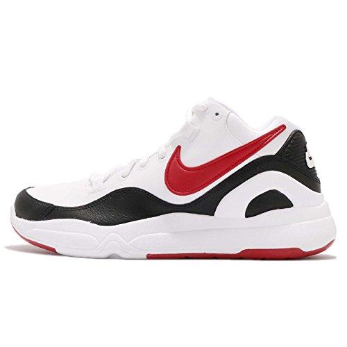 Nike Men's Dilatta Casual Shoes AA2159-102 White/University Red-Black (13)