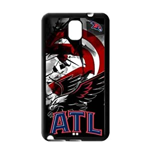 Samsung Galaxy Note 3 TPU Cover Case with Atlanta Hawks Logo-by Allthingsbasketball