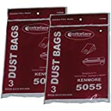 Kenmore 5055 50558 Type C Sears Canister Tank Vacuum Bags 609226 02050002000 50104 50012 Panasonic C-5 MC-V150M C-19 MC-V295H V9644 V9634 CG901 CG983, Progressive, Intuition, Whispertone, PowerMate, Aspiradora, Intuition, Blueberry, Panasonic using Type C5 C19