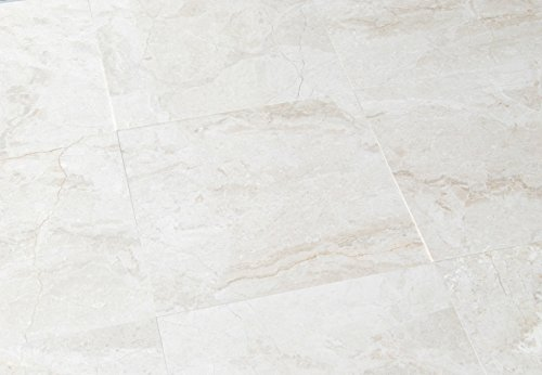 Queen Beige Marble 18X18 Polished Tiles - Premium Quality (SAMPLE)