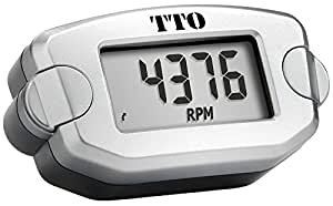 Trail Tech 72-A00 Silver Digital Tach/Hour Meter