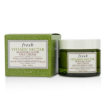 Fresh Vitamin Nectar Moisture Glow Face Cream 1.6oz / 50ml (Best Cream For Face Glow)