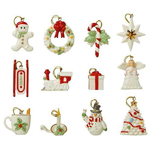 Lenox Tree Miniature Ornaments 16 Holiday Sets Winter