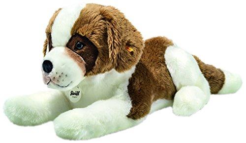 Steiff 079627 Bernhard Saint Bernard Plush Animal Toy, Brown/White ()