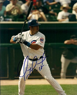 Soto Cubs Photograph Chicago - Autographed Geovany Soto Chicago Cubs Photo
