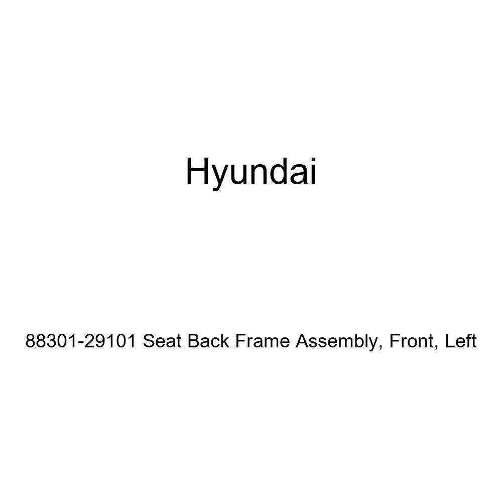 Genuine Hyundai 88301-29101 Seat Back Frame Assembly Left Front