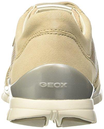 Geox Weiß Sukie Skinc8182 A Baskets Femme Basses IVORYC1008 Beige rra7zqw6x