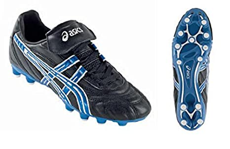 Scarpe Uomo Cs Asics Club Elettrico Bianco Nero Calcio Blu Slp962 SREqqw