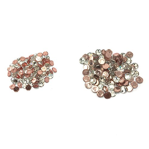 Mix Swarovski Hot Fix Crystals - Wholesale Lot 288 pcs Mix ss16 ss12 #2028 Swarovski Crystal HOTFIX Flatback Rhinestone Xilion Rose. CRYSTAL CLEAR