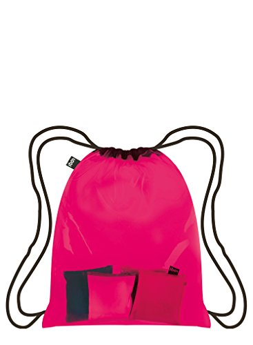 Casual 49 cm 10 liters Casual Pink Daypack Transparent Daypack LOQI LOQI tB1nwf