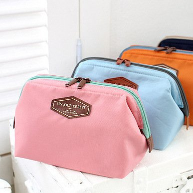 CHICECO Handy Cosmetic Pouch Clutch Makeup Bag - 10 Colors for Choice