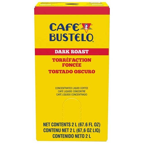 Cafe Bustelo Dark Roast Concentrated Liquid Coffee, 2 Liter -- 2 per case. by Cafe Bustelo