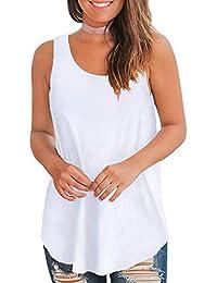 8fab518951dfba Women s Summer Sleeveless Floral Print Casual Tank Tops Shirts