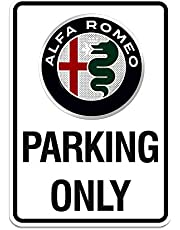 Alfa Romeo 21401 bord Parking Only, 28 x 40 cm