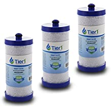 3 Pack Tier1 WF1CB Frigidaire PureSource, WFCB, RG100, WF284, NGR2000, Kenmore 469906, 469910 Replacement Refrigerator Water Filter