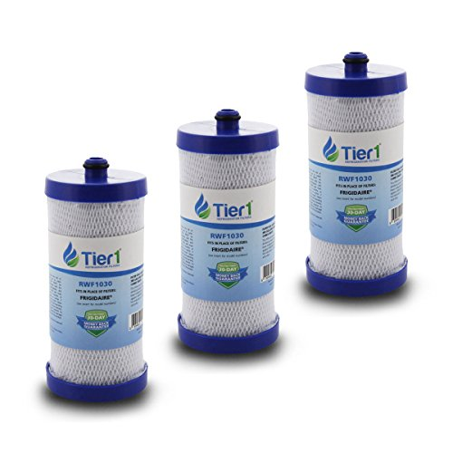 Price comparison product image 3 Pack Tier1 WF1CB Frigidaire PureSource, WFCB, RG100, WF284, NGR2000, Kenmore 469906, 469910 Replacement Refrigerator Water Filter