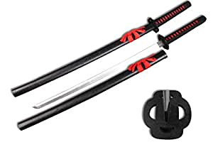 "Sparkfoam 39"" Samurai Sword with Wood Scabbard"