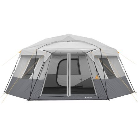 Ozark Trail 17′ x 15′ Person Instant Hexagon Cabin Tent, Sleeps 11