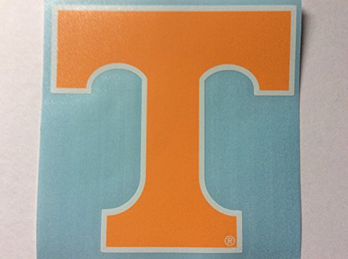 Tennessee Volunteers, Orange / White Power T Premium Vinyl Decal, Auto