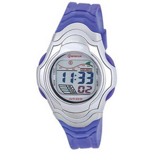 Montre Concept - Relojes digitales hombre Mingrui - Correa Plástico Púrpura - Dial Redondo Fondo Púrpura: Amazon.es: Relojes