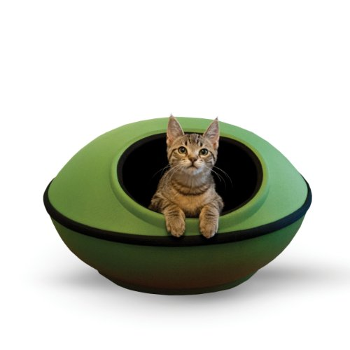 K&H Pet Products Mod Dream Pod Pet Bed Green/Black 22