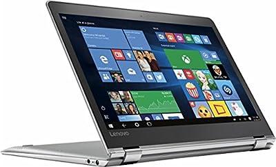"Newest Lenovo Yoga 710 2-in-1 11.6"" Full HD Touchscreen Flagship High Performance Laptop PC | Intel Core i5-7Y54 | 8GB RAM | 128GB SSD| HDMI | Bluetooth | Windows 10 (Silver)"