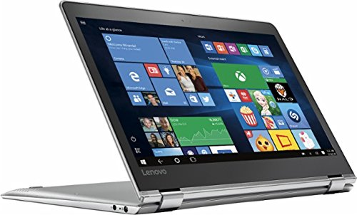 Lenovo Yoga 710 2-in-1 11.6'' Full HD Touchscreen Flagship High Performance Laptop PC | Intel Core i5-7Y54 | 8GB RAM | 128GB SSD| HDMI | Bluetooth | Windows 10 (Silver) by Lenovo