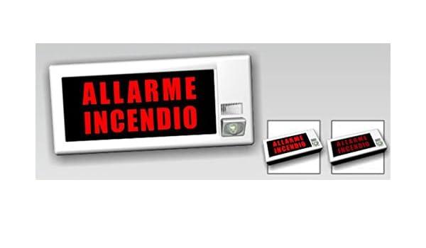 lf24 W - Dispositivo de visión y sonoro de alarma incendios ...