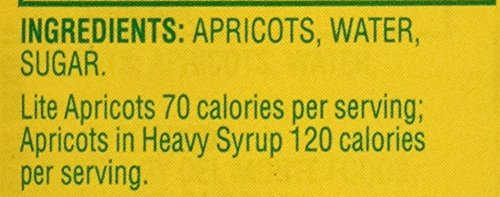 Del Monte Canned Apricot Halves in Extra Light Syrup, 15-Ounce (Pack of 12) by Del Monte (Image #2)