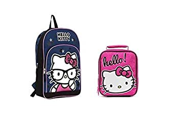 f03c47e73 Image Unavailable. Image not available for. Color: Hello Kitty Backpack  PLUS Lunch Bag