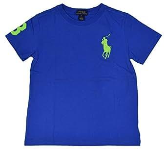 Polo ralph lauren little boys 39 big pony logo t for Amazon logo polo shirts