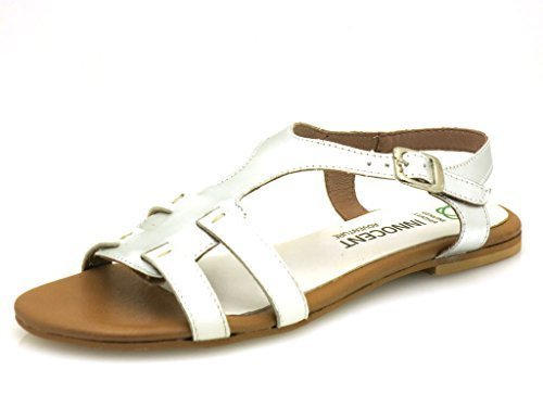 ad04 Shoes Summer Leather Leather Innocent Leather 183 Sandal Sandal Branco Comfortable 1H0wnXqSz