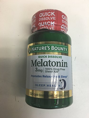 Natures Bounty Strength Melatonin Supplement