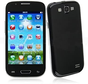 GT-9300 de bajo costo de 4,2 pulgadas resistente pantalla táctil WiFi TV FM Radio Dual SIM del teléfono Bluetooth (negro, blanco): Amazon.es: Electrónica