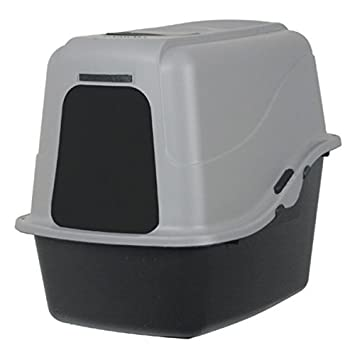 Petmate Hooded Litter Pan Set Large Black/Gray  sc 1 st  Amazon.com & Amazon.com : Petmate Hooded Litter Pan Set Large Black/Gray ... Aboutintivar.Com