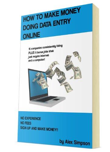 Making Money Doing Data Entry Online