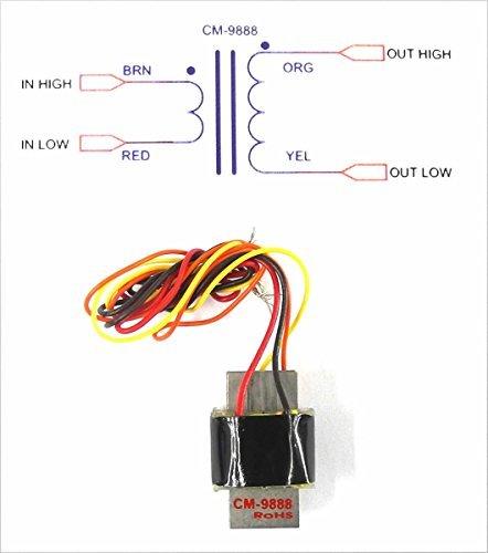 (Cinemag CM-9888U Twin Bobbin Ribbon Mic Output Transformer For RCA 44 Etc.)