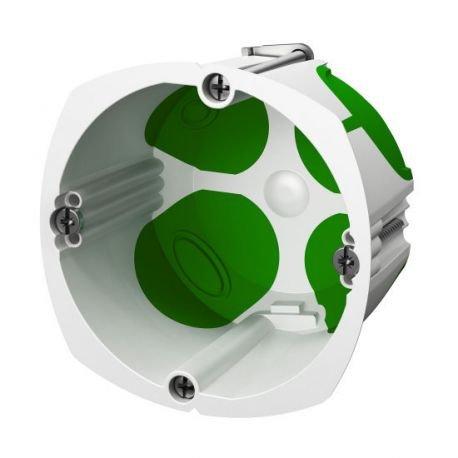 Schneider Electric sc5imt35249 - Caja de empotrar, impermeable, 67 x 47 mm (diá metro x profunidad) 67 x 47 mm (diámetro x profunidad)