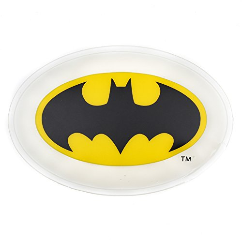 Bumkins DC Comics Batman Kids Cold Pack, Ice Pack, Freezable, Reusable, Soothe Aches and Pain