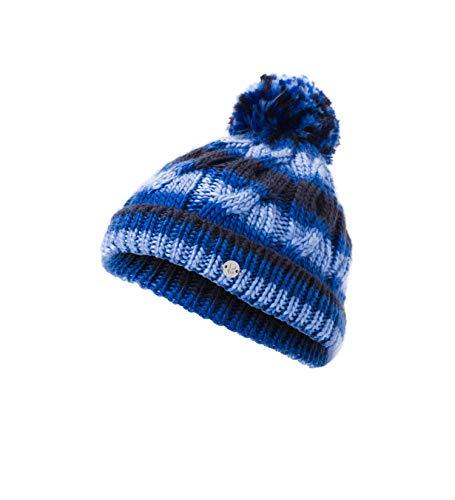 Spyder Girls' Kaleidoscope Hat, Frontier/Turkish Sea/Blue Ice, One Size