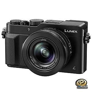 PANASONIC LUMIX LX100 4K Point and Shoot Camera, 3.1X LEICA DC Vario-SUMMILUX F1.7-2.8 Lens with Power O.I.S., 12.8 Megapixel, DMC-LX100K (USA BLACK)