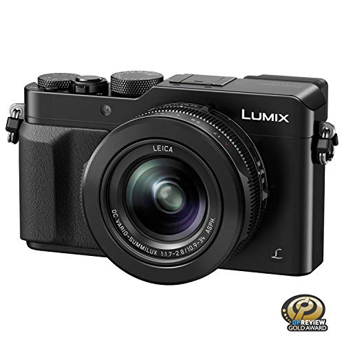 PANASONIC LUMIX LX100 4K Point and Shoot Camera, 3.1X LEICA DC Vario-SUMMILUX...