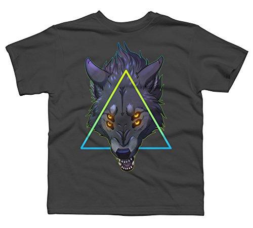 - PREDATOR - V3 Boy's Medium Charcoal Youth Graphic T Shirt - Design By Humans