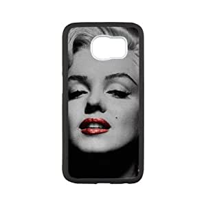 Samsung Galaxy S6 Cell Phone Case White Marilyn Monroe Phone cover SE8576028