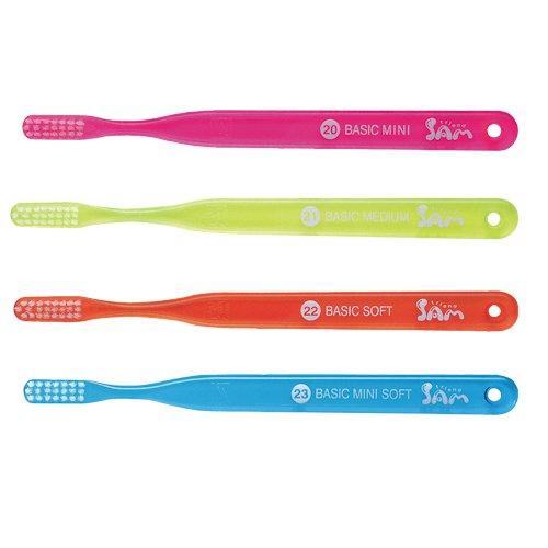 Sam Friend Basic Toothbrush (23) 4 Count Assort by Sam Friend
