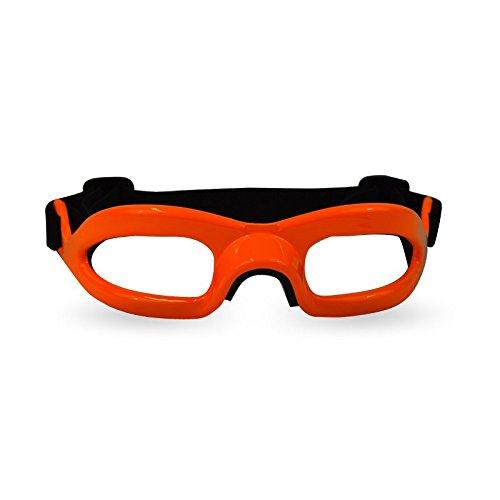 CHALLENGER Lensless Coloured Eyeguards - Orange -