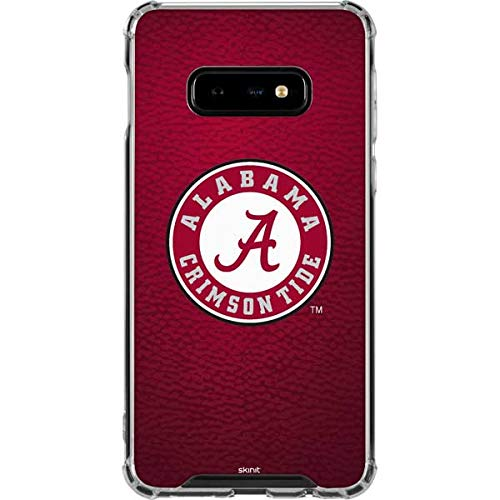 Skinit University of Alabama Seal Galaxy S10e Clear Case - Officially Licensed College Phone Case Clear - Transparent Galaxy S10e Cover ()