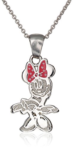 Disney Minnie Sterling Pendant Necklace