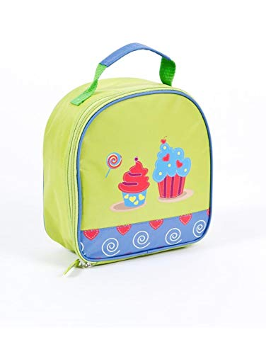 (Aquarella Kids Cupcakes Lunchbox, Green)